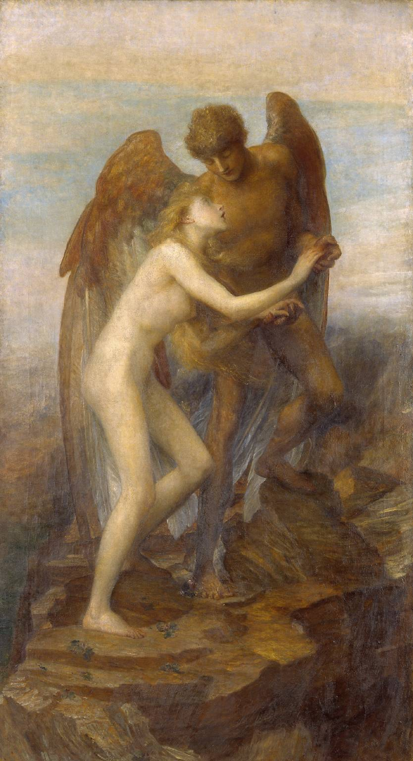 Love and Life circa 1884-5 by George Frederic Watts 1817-1904