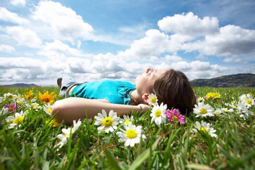 sleep in nature
