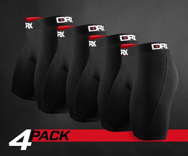 Save 30% when buying a DRX Performance Underwear 4 Pack! Only online at DRXWear.com #TeamDRX