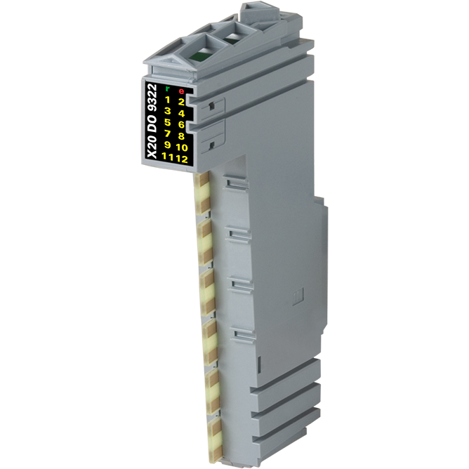 X20 1x New X20DO9322 12 digital output module B/&R Automation 24Vdc