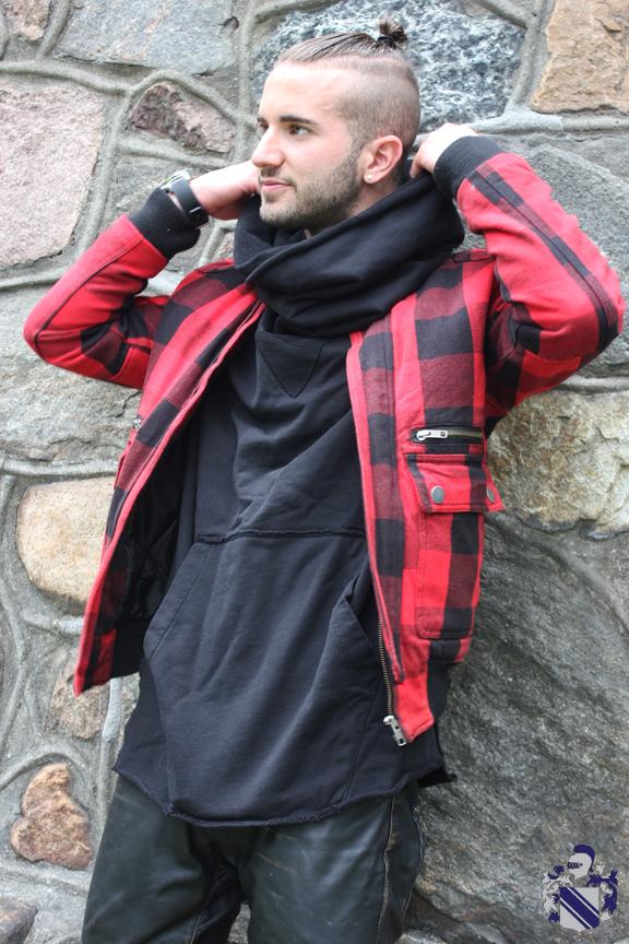 Style Profile: Christian Jonathan Pignotti buffalo plaid