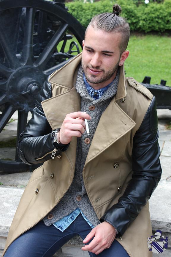 Style Profile: Christian Jonathan Pignotti Trench coat