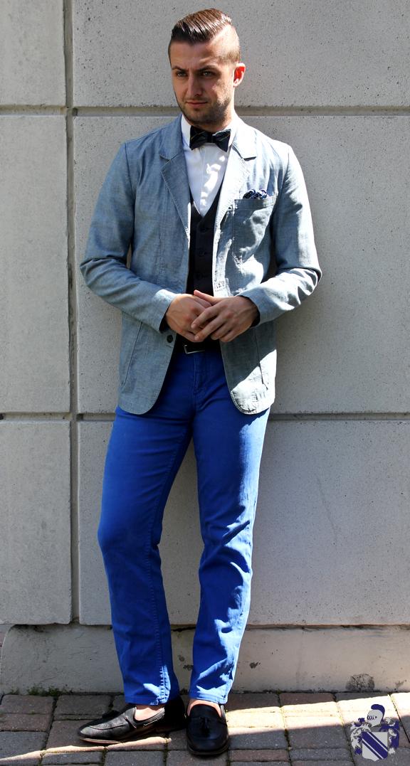 canadian tuxedo Bow tie