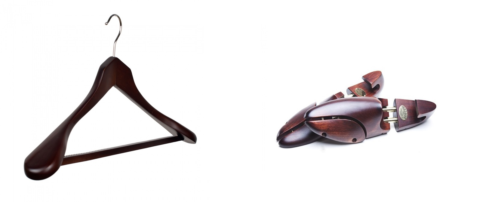 The Best Holiday Gifts for Men - Wooden hangers/ Shoe trees
