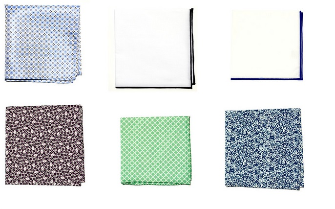 The Best Holiday Gifts for Men - Pocket squares