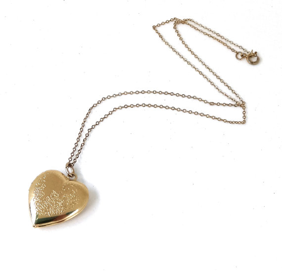 Heart locket - Valentines day gifts
