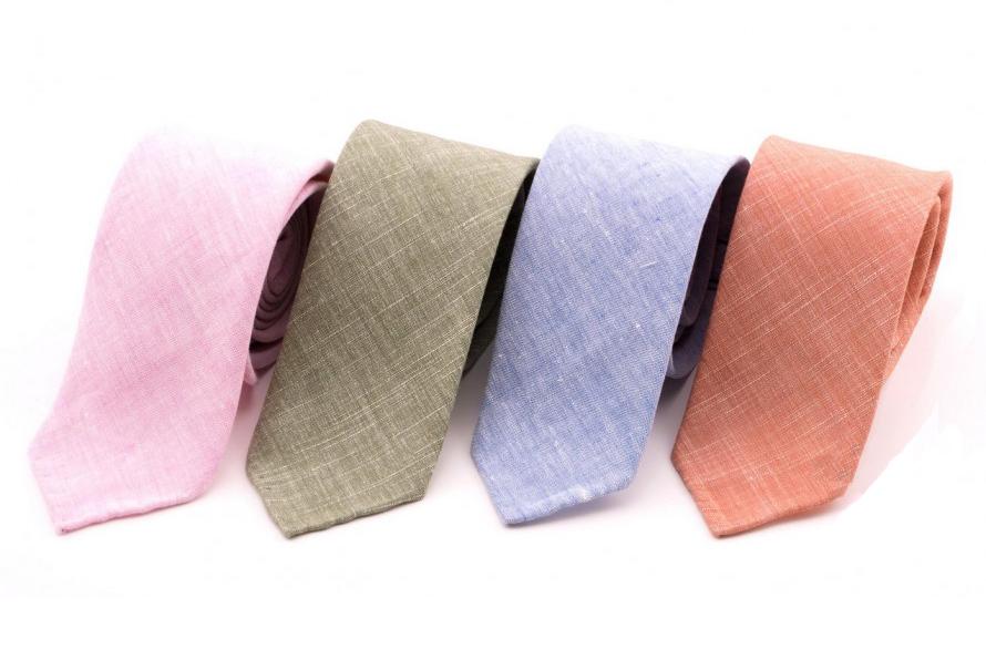 linen ties