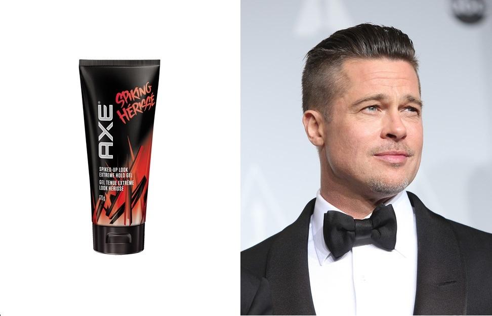 undercut - Brad Pitt