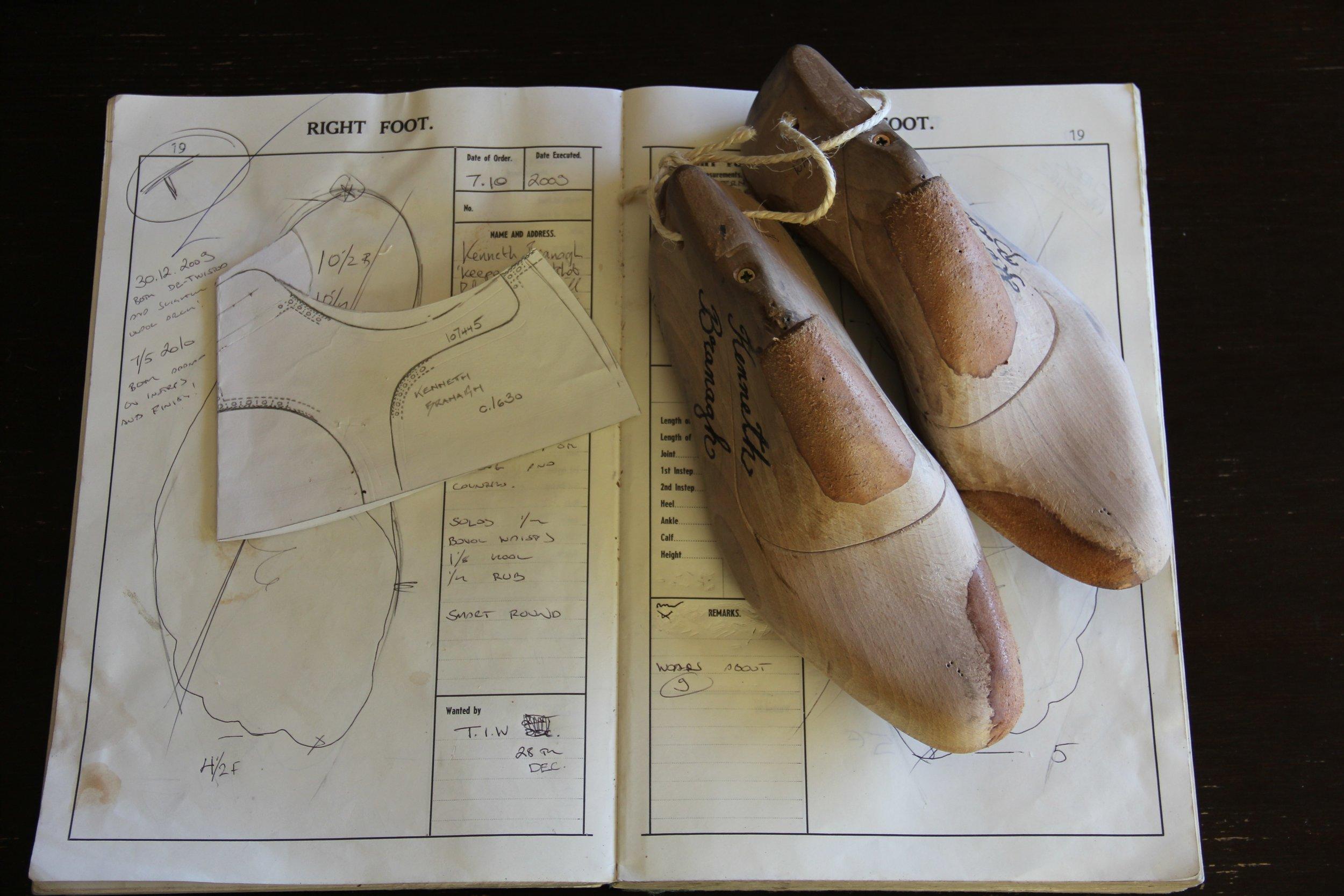 K.Branagh shoe designs