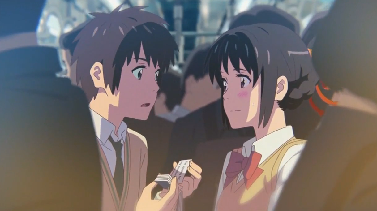 Do Taki And Mitsuha From Your Name Appear In Weathering With You The Boba Culture