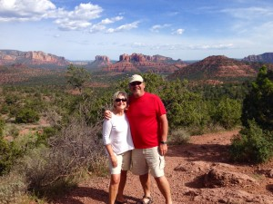 We hiked in Sedona and it helped our soul.