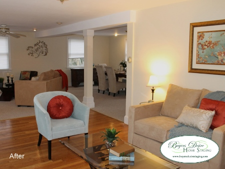 Vacant Home Staging After in Braintree