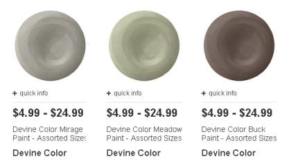 Devine Color paints