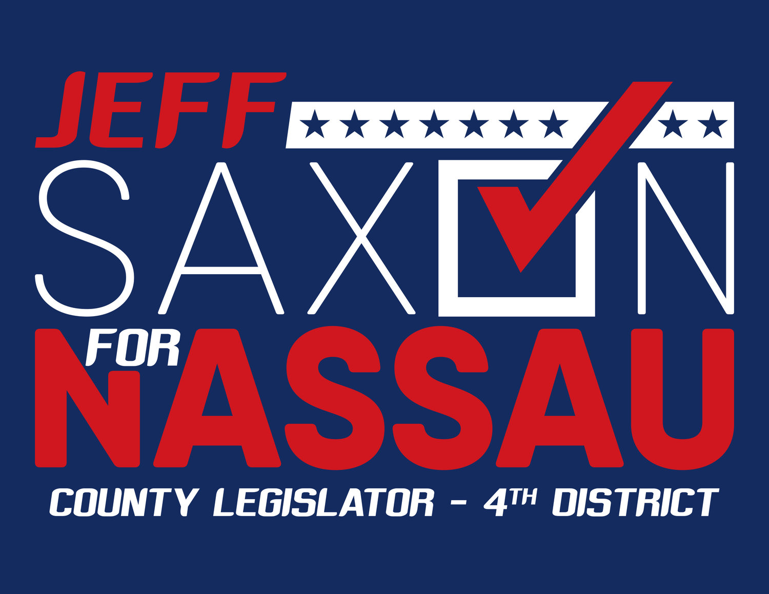 Jeff Saxon for Nassau