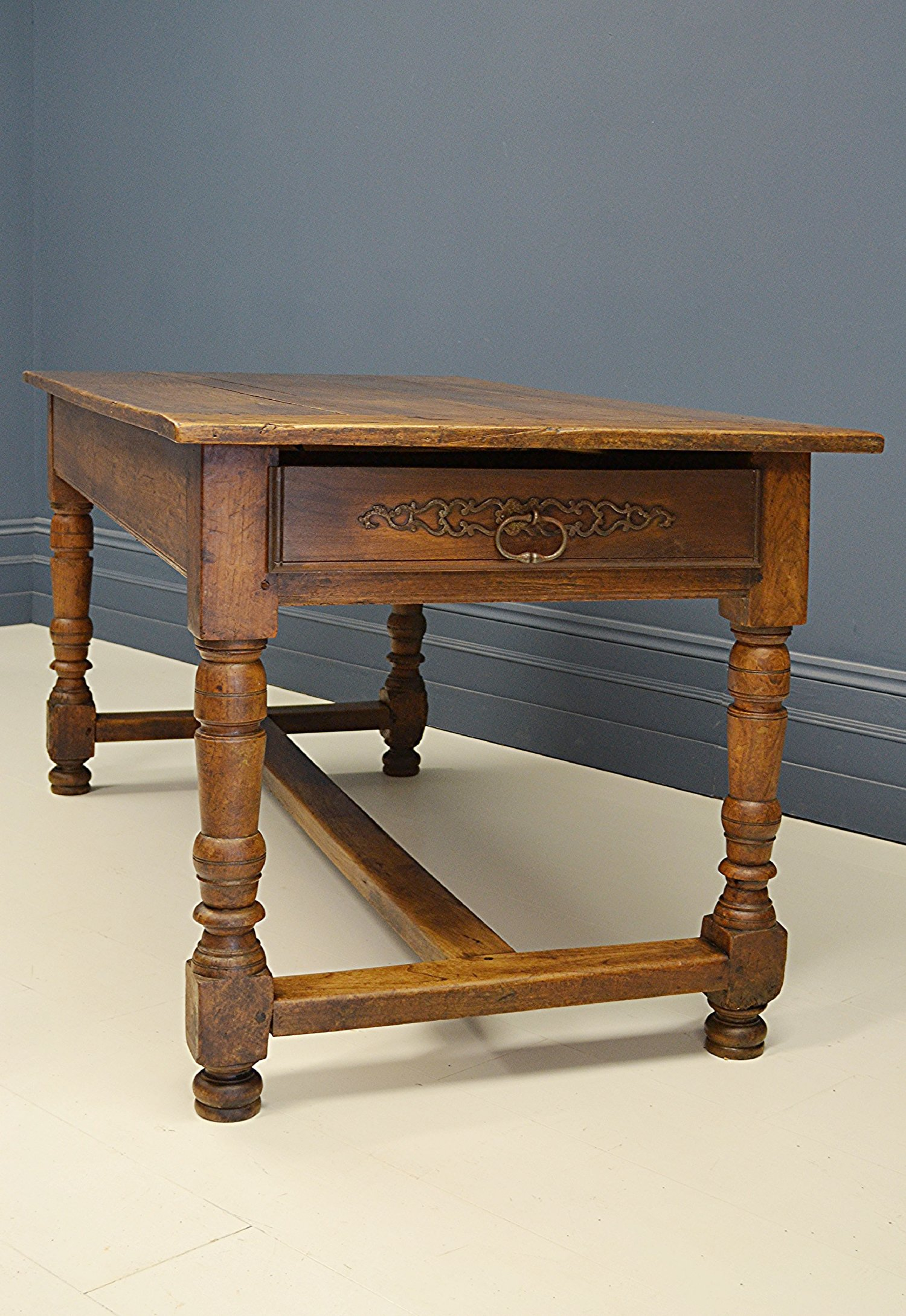 19th Century French Oak Dining Table Christian Lawrence Interiors