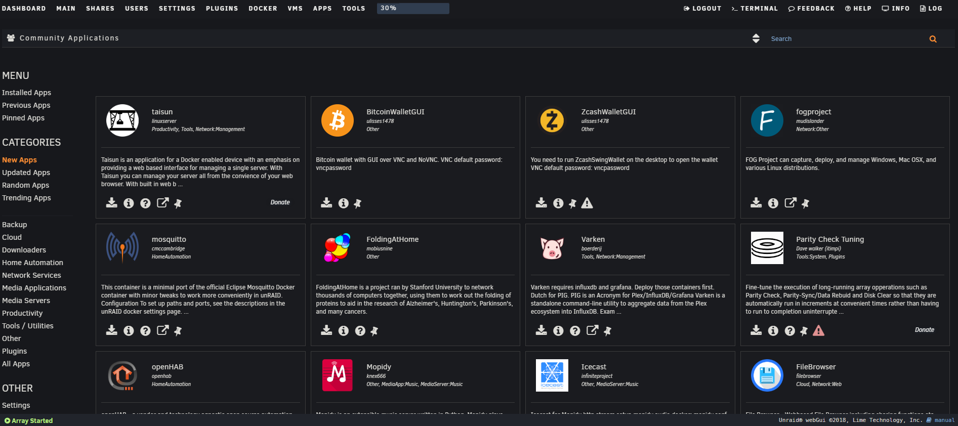 Configuring NextCloud on Unraid — Target-Bravo