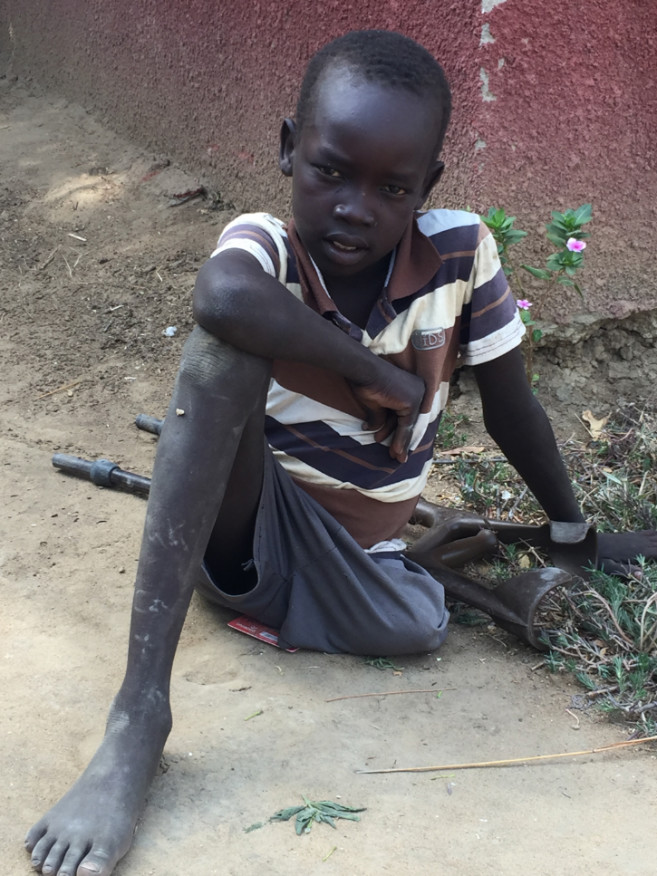 Bior. A 9 year-old boy in Bor town, Jonglei State, South Sudan.