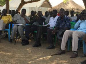 Village elders meeting during Jacob's visit.