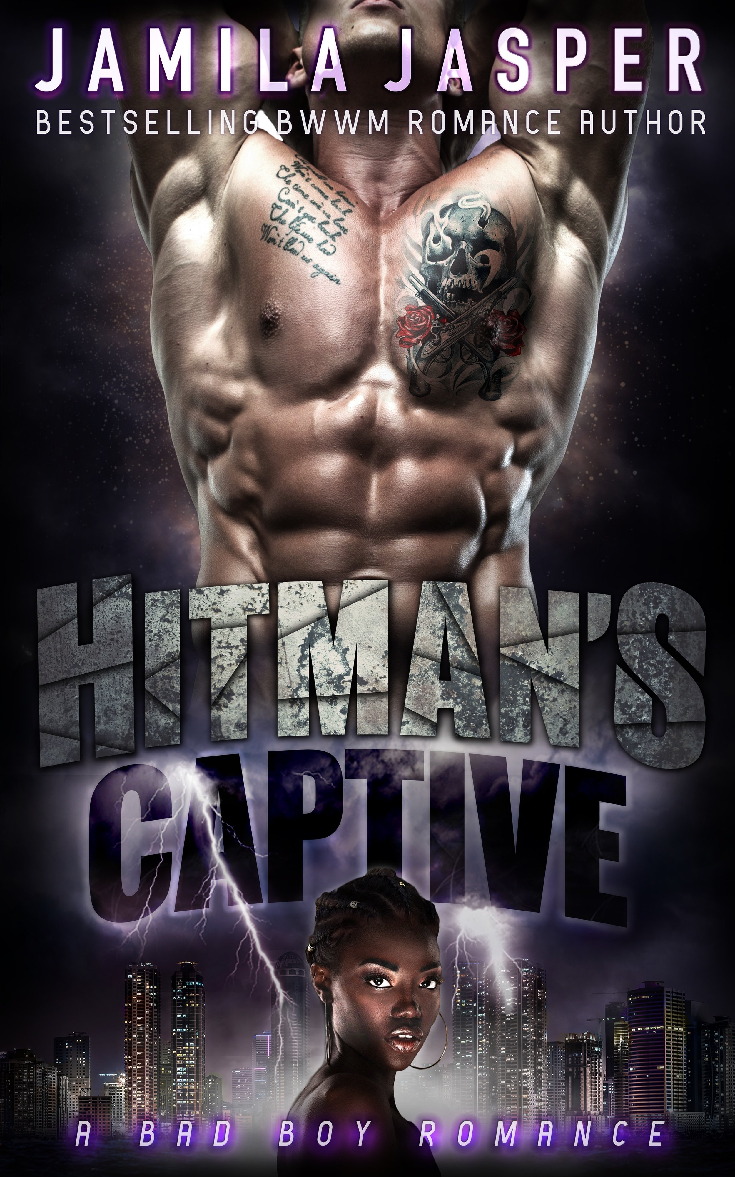 hitman's captive jamila jasper interracial romance dark romance story bad boy bwwm romance novels