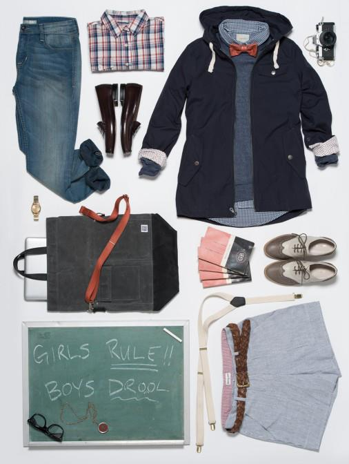 Wildfang's Tomboy Style via Bridge & Burn