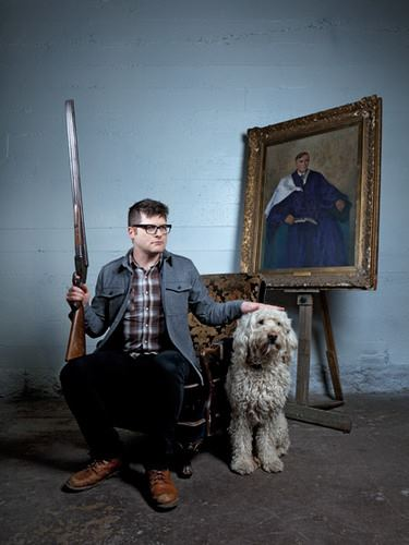 Colin Meloy, of the Decemberists, in our Longmont wool overshirt.