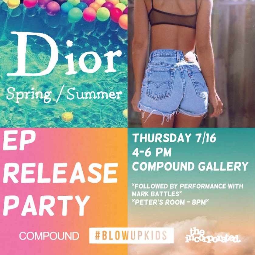 Dior-EP-Release-Party
