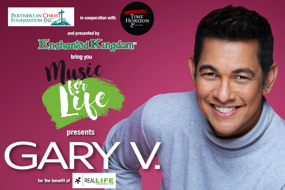 Music for LIFE featuring Gary Valenciano — Real LIFE Foundation