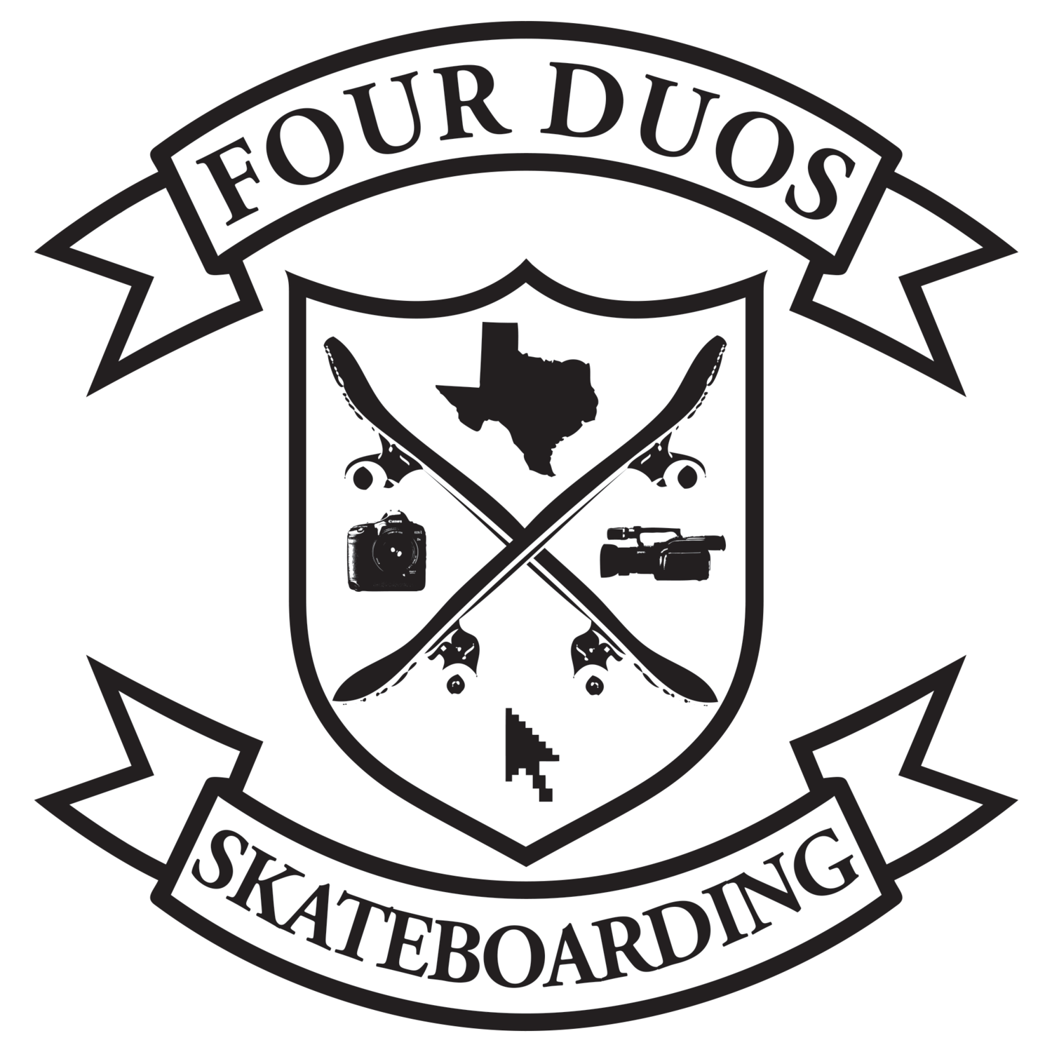 Four Duos Texas Skateboarding