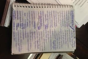 my brain on paper