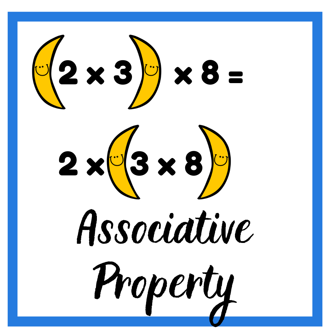 The Associative Property: Numbers Like to Associate With