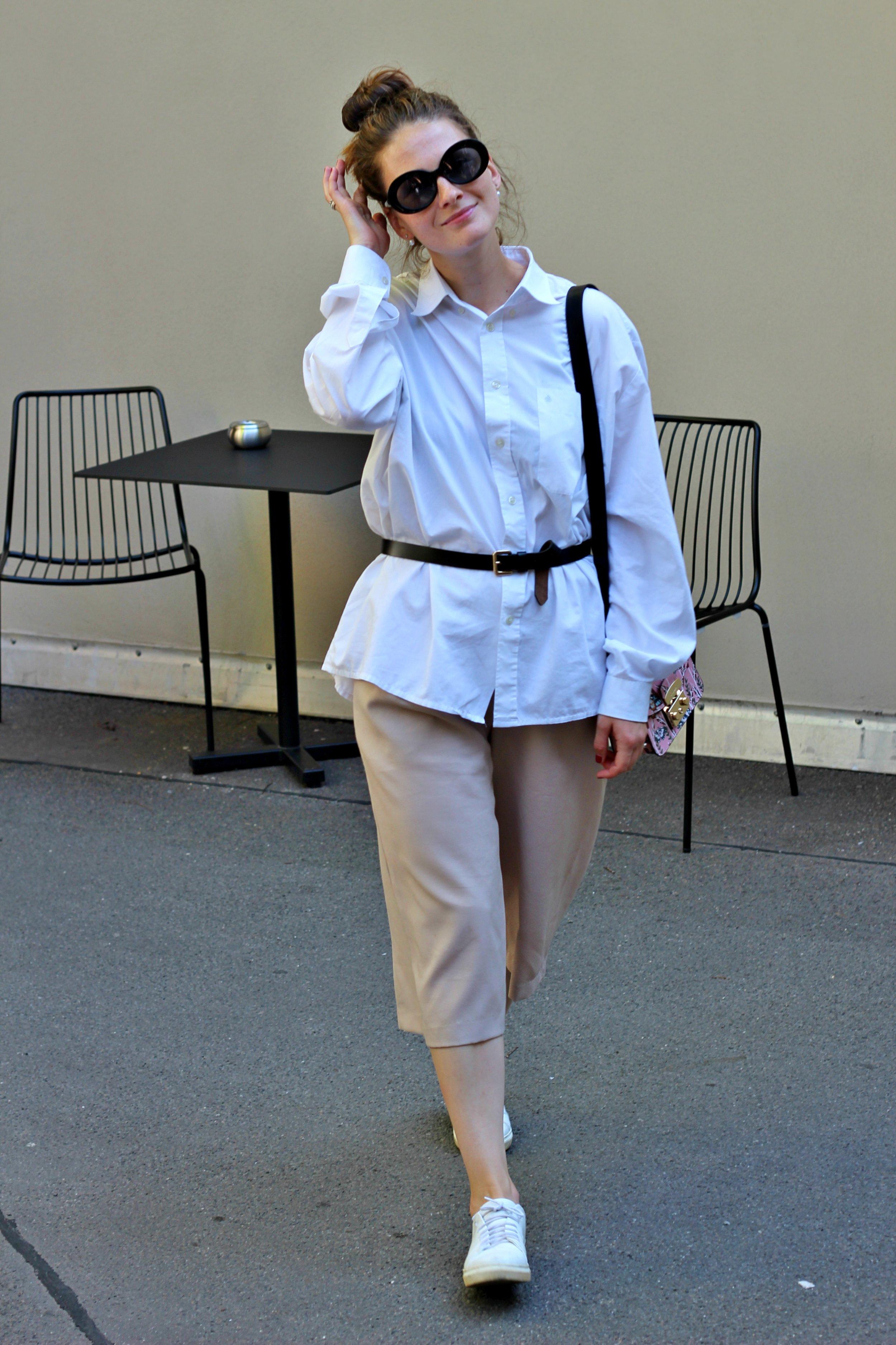 annaporter-outfit-beige-culottes-white-shirt-furla-bag-2