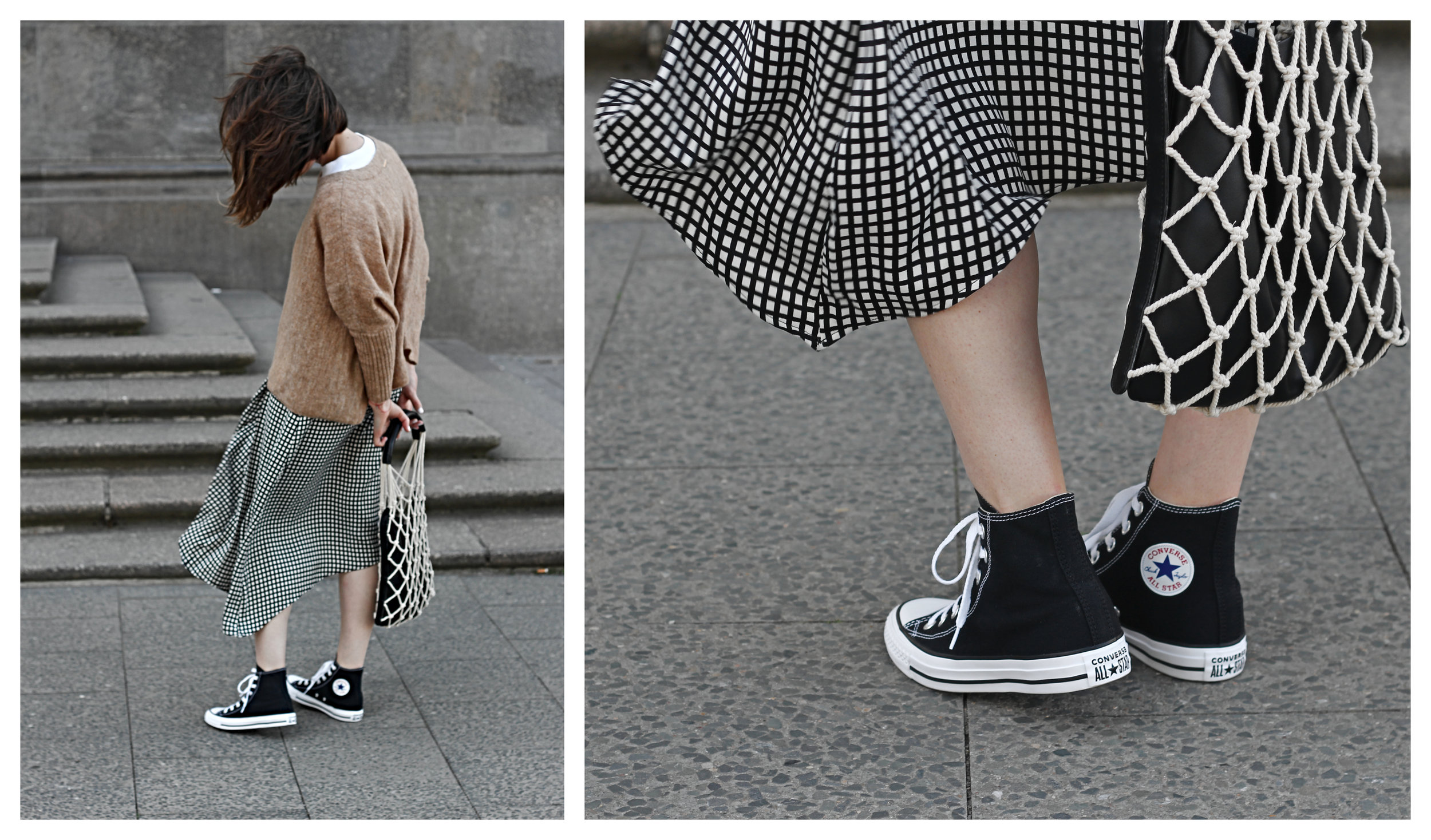 annaporter-fishnet-bag-camel-pullover-converse-high-sneakers-komono-sunglasses-collage
