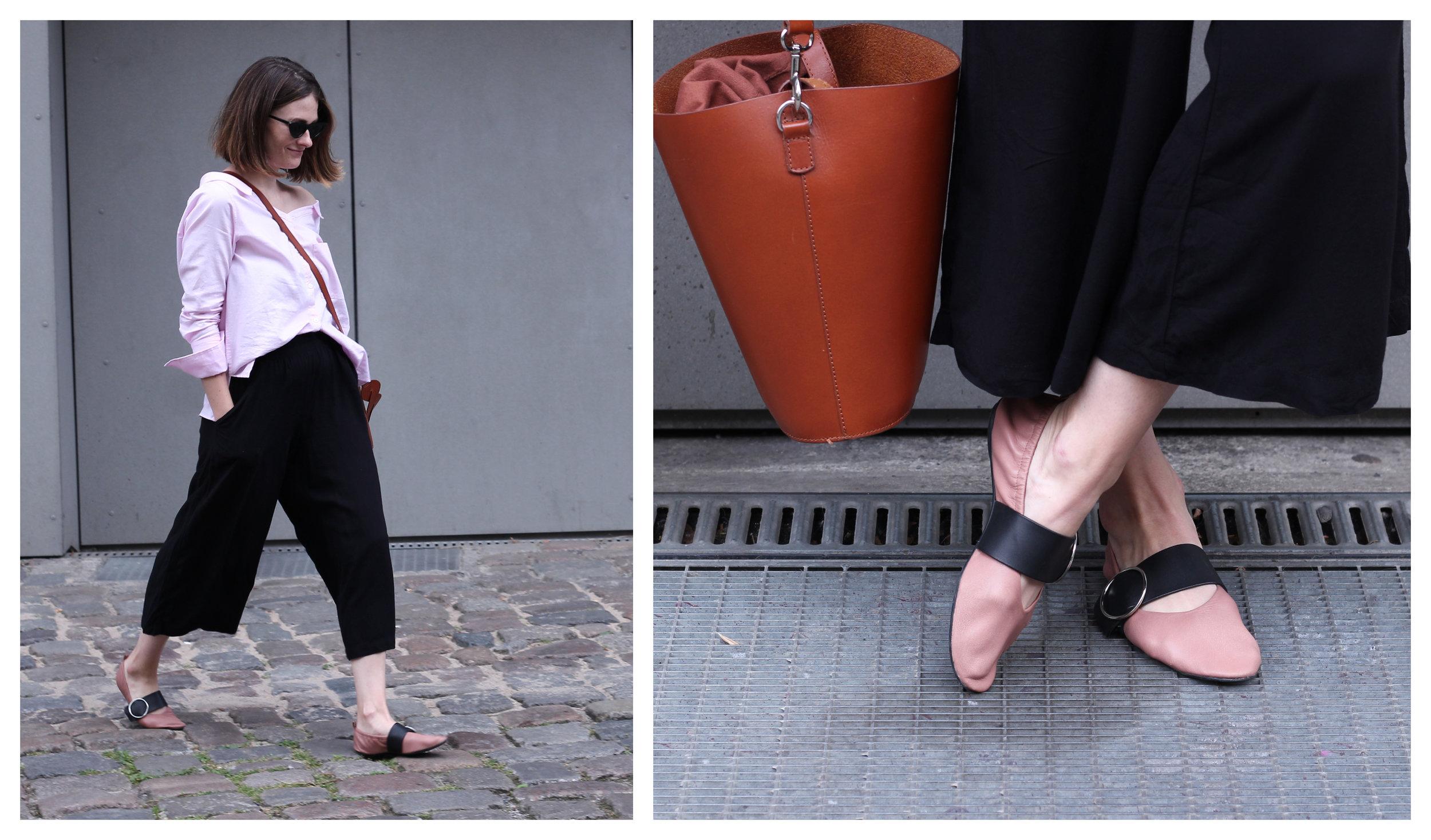 annaporter-offshoulder-shirt-drykorn-otherstories-ballerina-shoes-collage-1