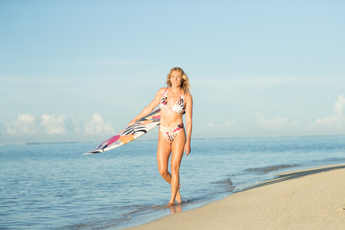 Stephanie Gilmore, ROXY Pop Surf Collection 2020