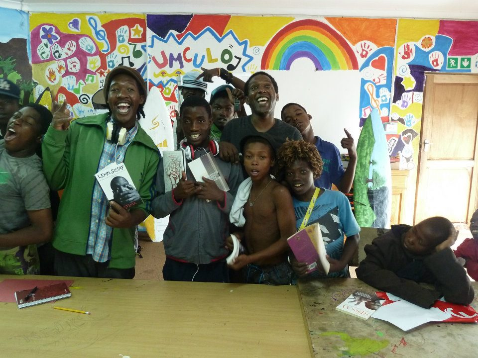"""I will tell you more about this incredible project in my blog but for now a picture of """"street children"""" at their best."""