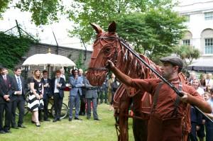 Downing St War Horse
