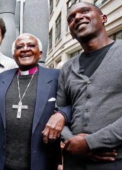 Desmond Tutu and I 2007