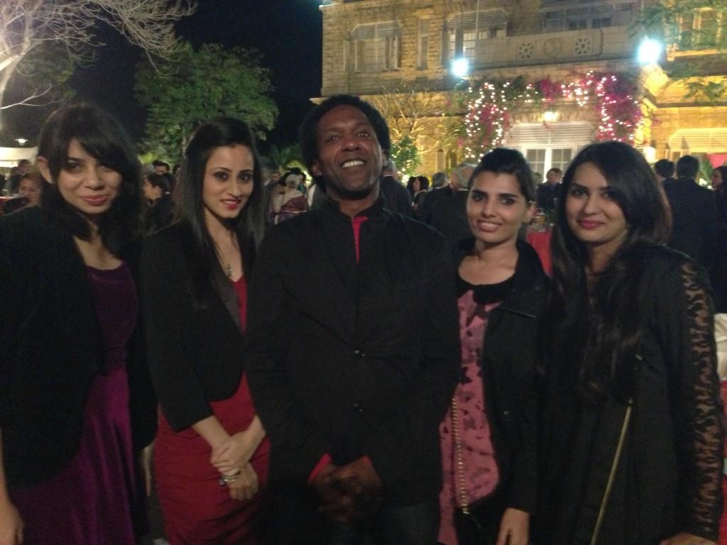 Lemn Sissay and Fashion Designers