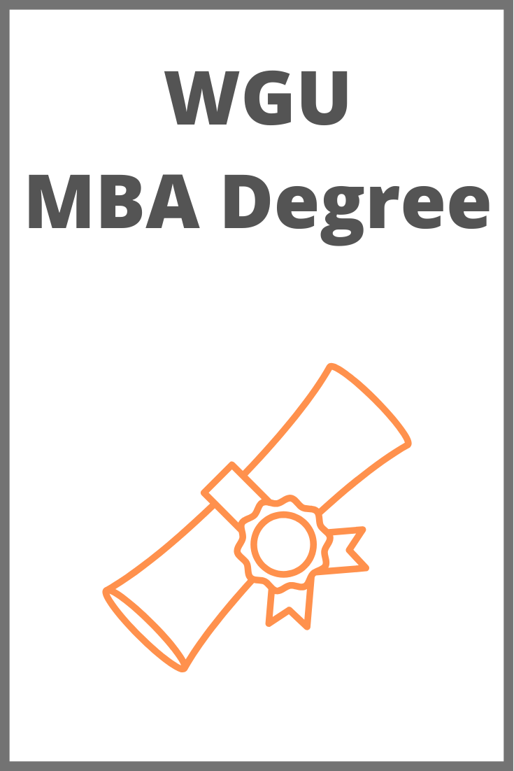 Western Governors University MBA Review — FIRE the Family!