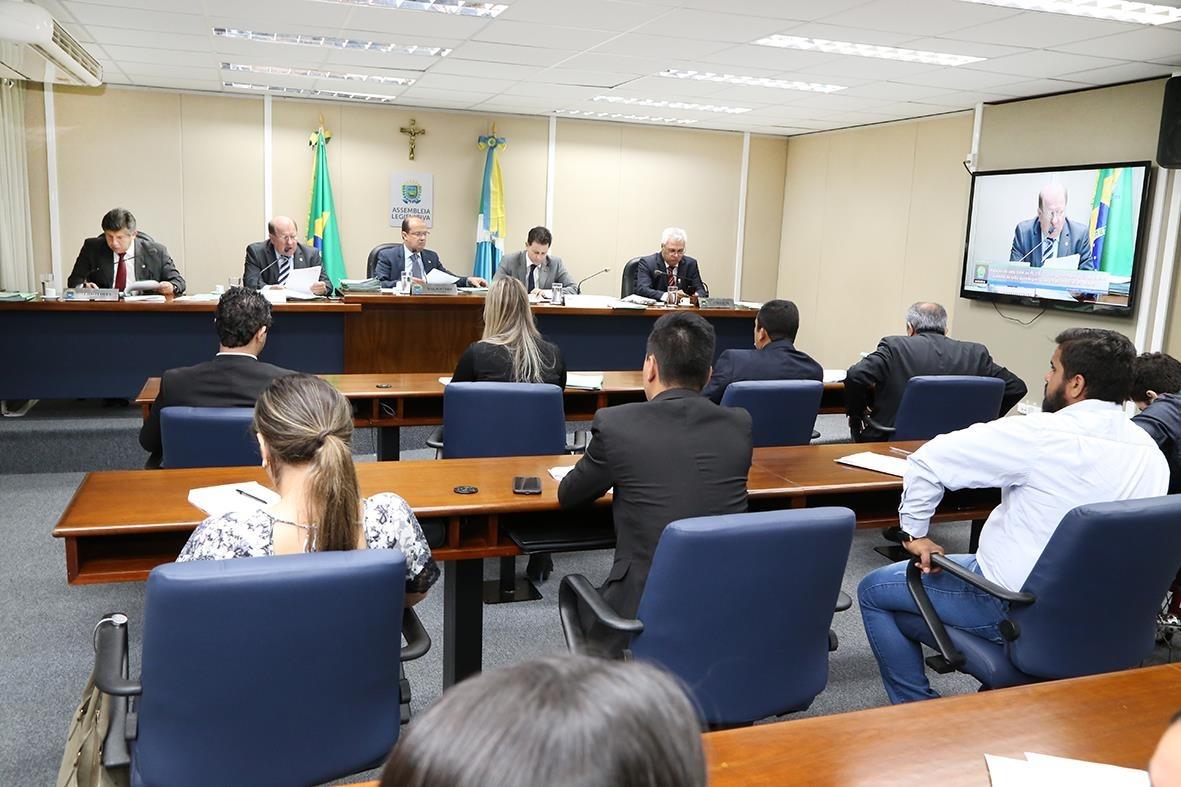 Nove projetos passam pela CCJR, um veto do Executivo é rejeitado e outro mantido Foto: Victor Chileno