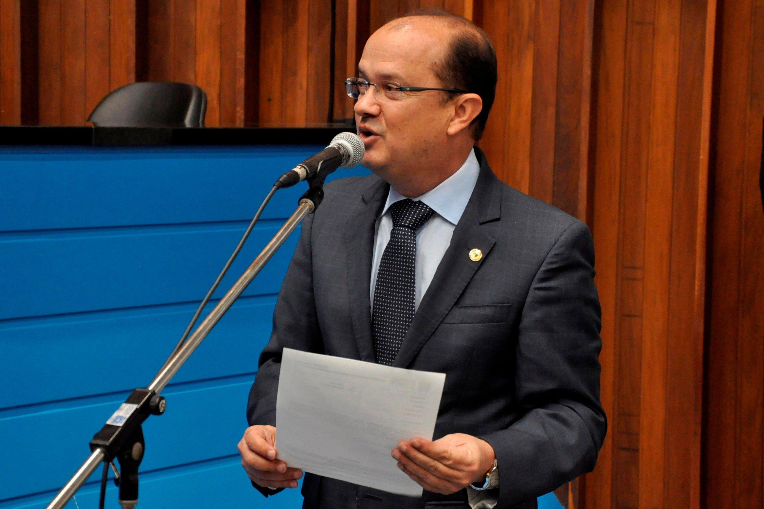 Legenda:  Deputado Barbosinha quer posto policial em Piraporã. Foto: Luciana Nassar