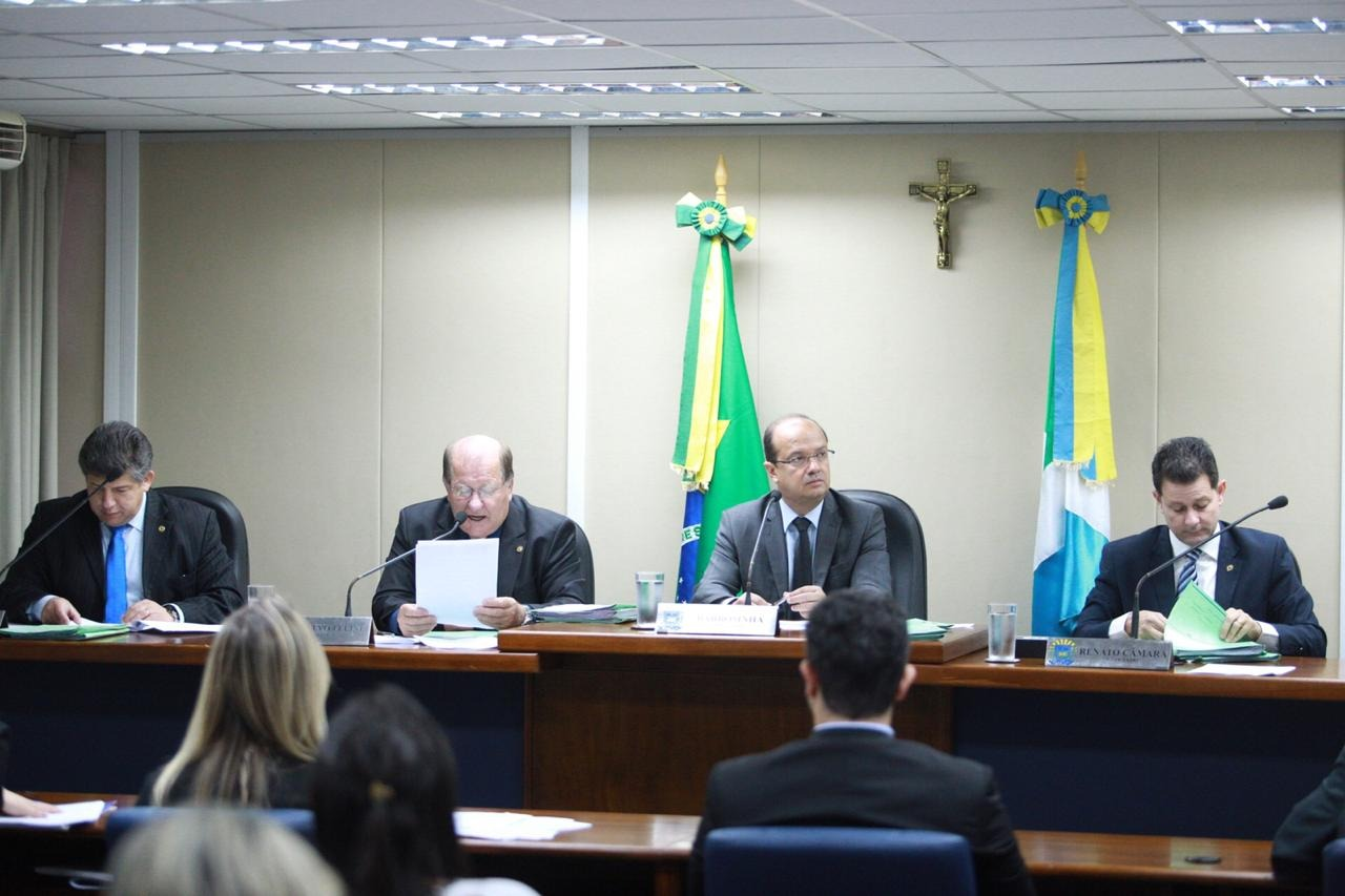 A reunião da CCJR aconteceu na manhã desta quarta-feira, no Plenarinho Deputado Nelito Câmara. Foto: João Garrigó
