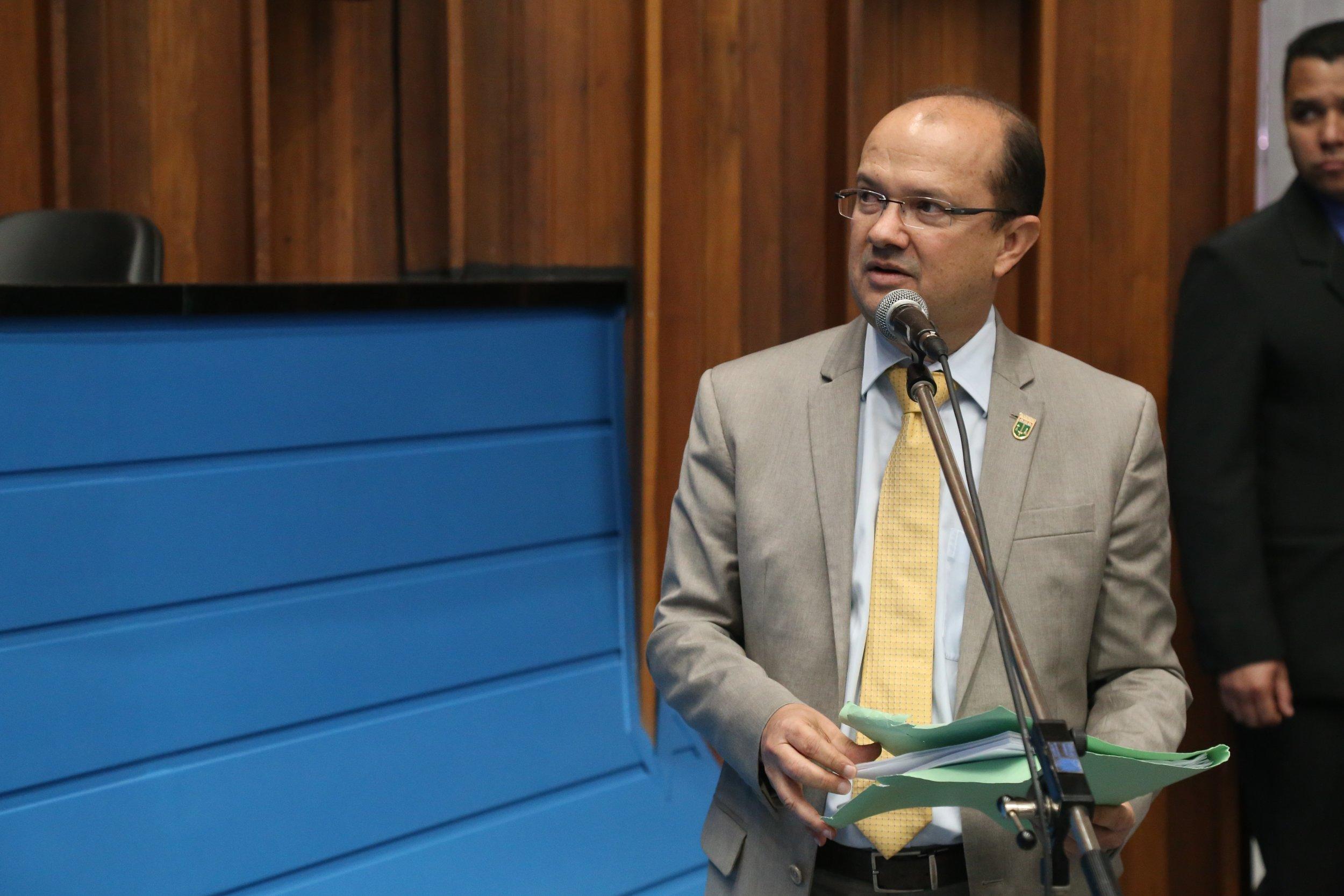 Deputado Barbosinha solicita ações para o município de Eldorado e Bodoquena. Foto: Kauhê Prieto