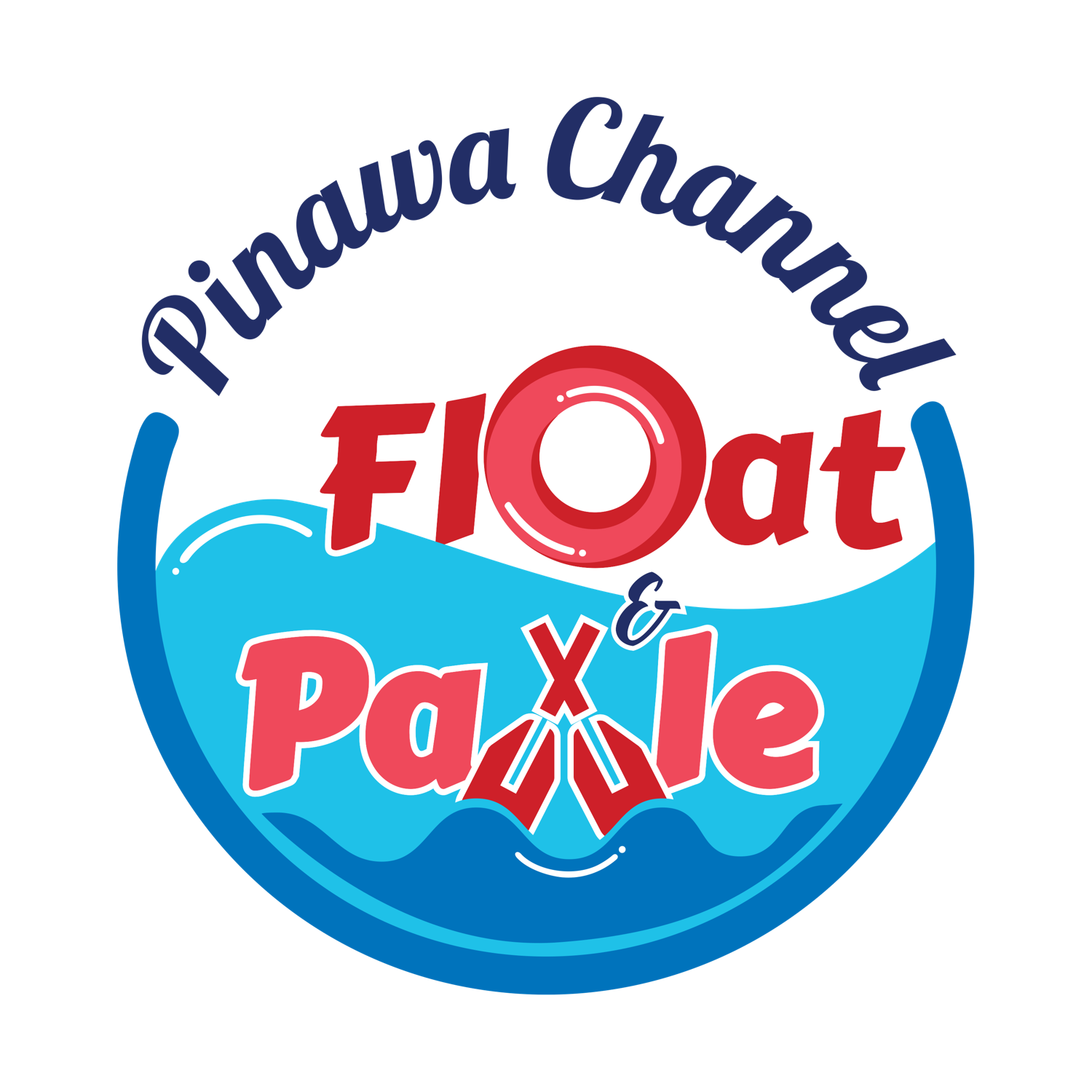Pinawa Channel Float and Paddle