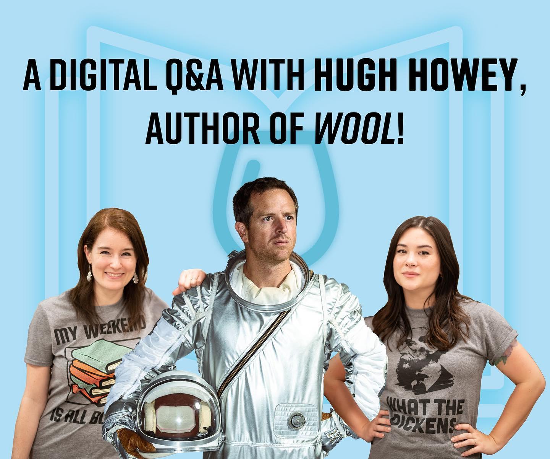 Hugh Howey Answers Your Questions Geekward Als sich die beiden entfremdeten zum ersten mal nach fünfzehn jahren. geekward
