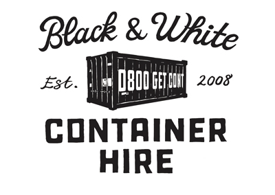 Black & White Container Hire
