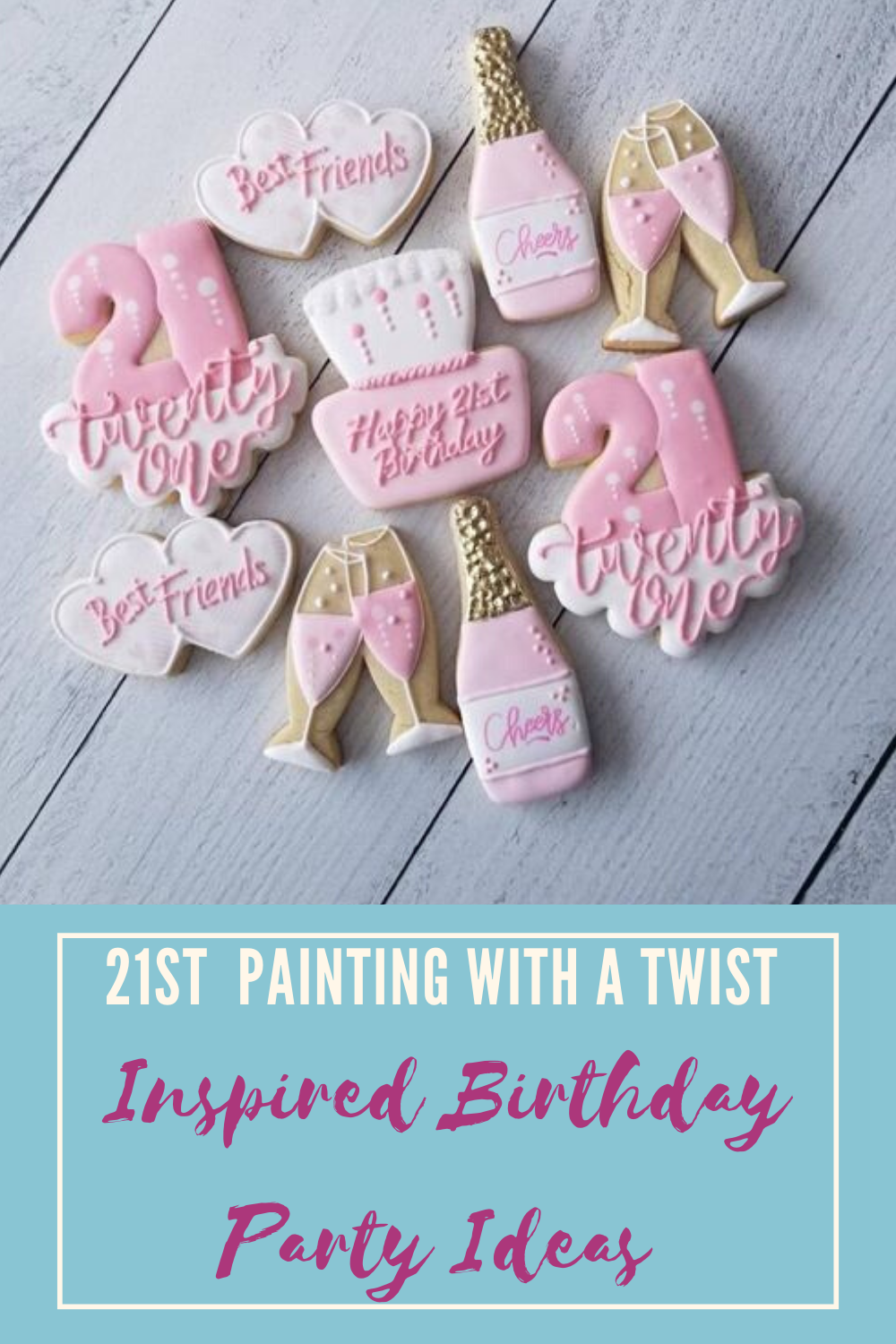 21st Painting With A Twist Inspired Birthday Party Lyfetymes Party