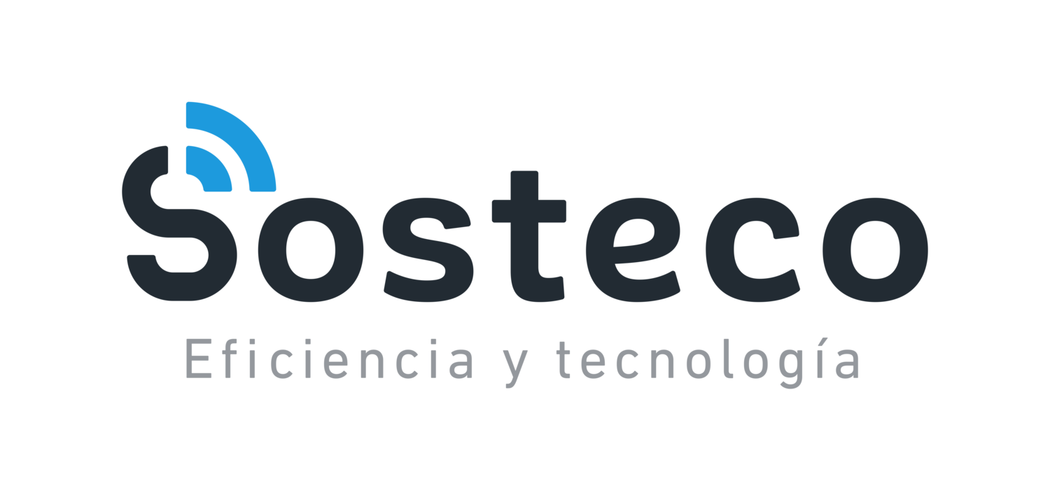 Sosteco Eficiencia y Tecnología | IoT | LoRaWAN | Smart Cities | Industria 4.0 | Smart Agro | FIWARE | Connectividad