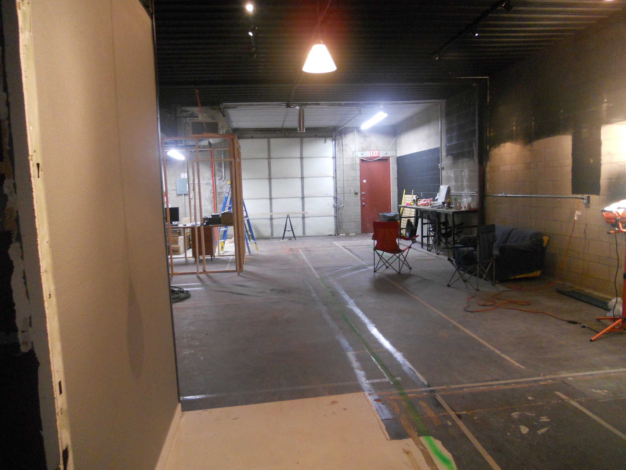 A look at the progress inside Fossil Brewing