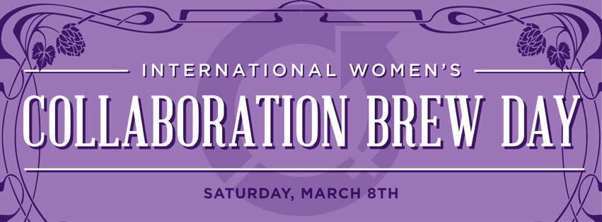 International Womens Collaboration Brew Day